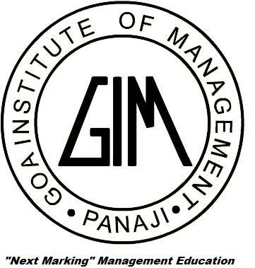 Logo of Goa Institute of Management (GIM)