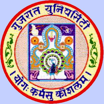 Logo of Gujarat University