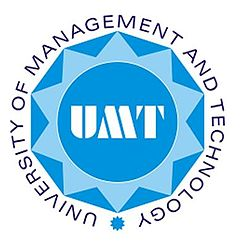 Logo of UMT - University of Management and Technology