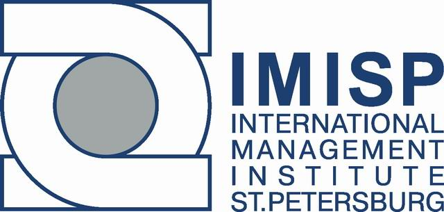 Logo of IMISP - International Management Institute of St-Petersburg