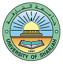Logo of University of Sharjah