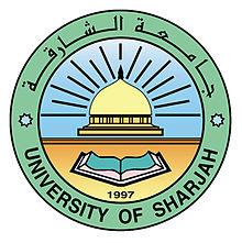 Logo of University of Sharjah