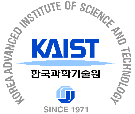Logo of Korea Advanced Institute of Science and Technology (KAIST)