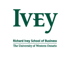 Logo University of Western Ontario - Ivey Business School