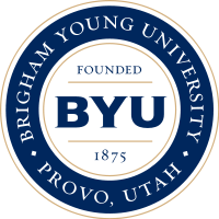Logo of Brigham Young University