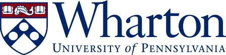 Logo University of Pennsylvania - Wharton School