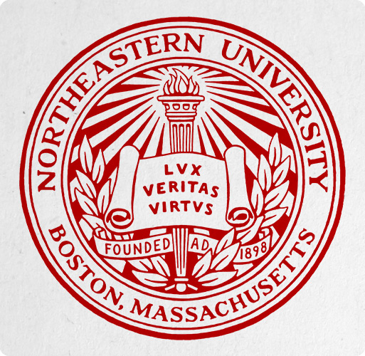Logo of Northeastern University