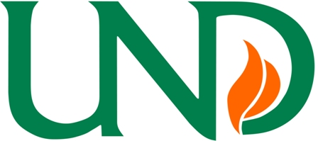 Logo The University of North Dakota - Department of Communication