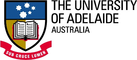 Logo of University of Adelaide