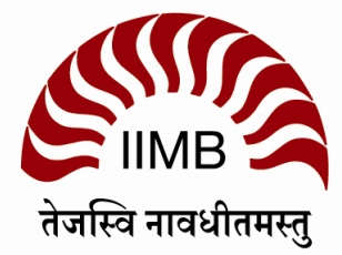 Logo Indian Institute of Management Bangalore (IIM-B)