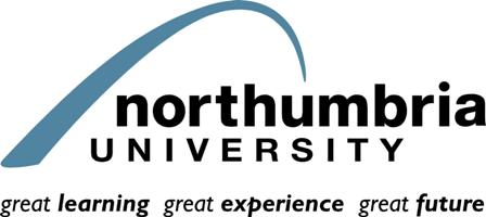 Logo Northumbria University Newcastle - Architecture and Built Environment