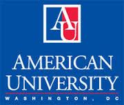 Logo of American University