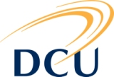 Logo of Dublin City University (DCU)