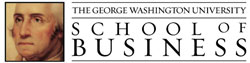 Logo George Washington University -The George Washington University School of Business
