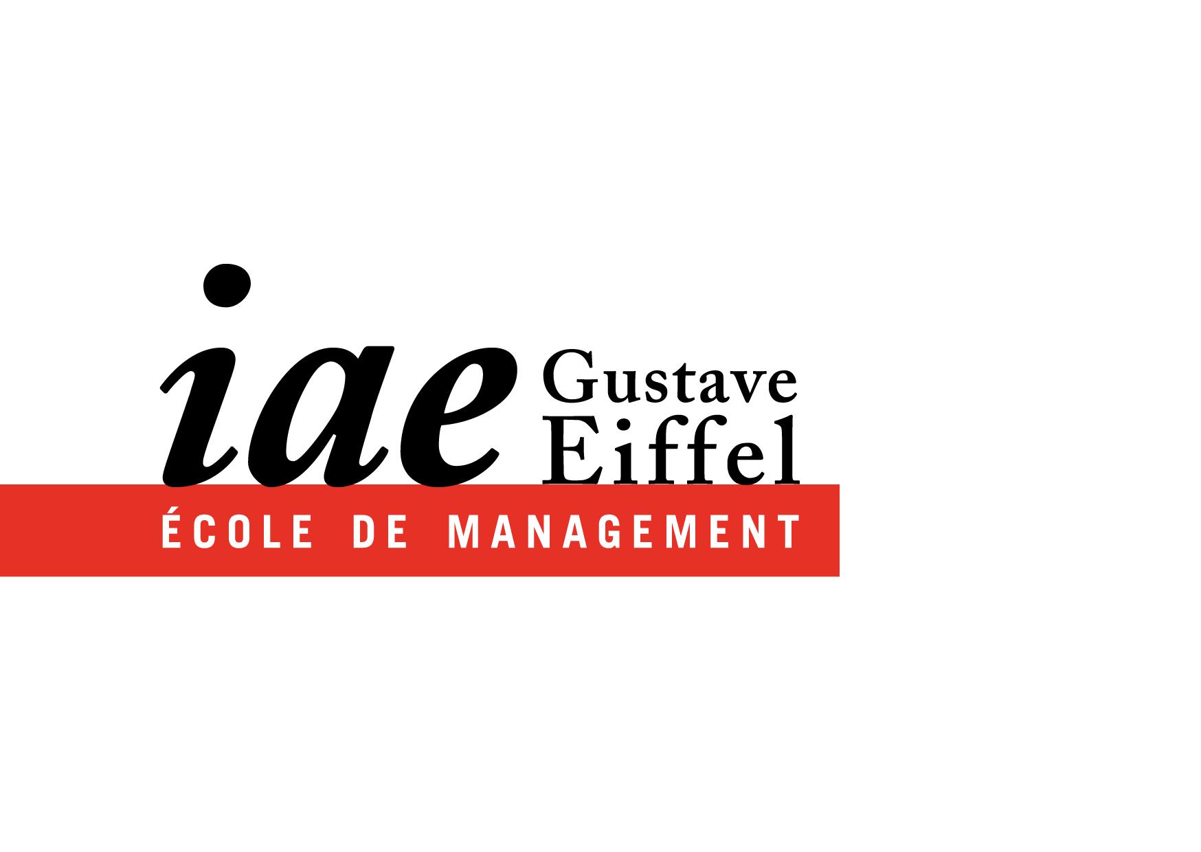 Logo IAE Gustave Eiffel – Université Paris-Est Créteil & Université Paris-Est Marne la Vallée