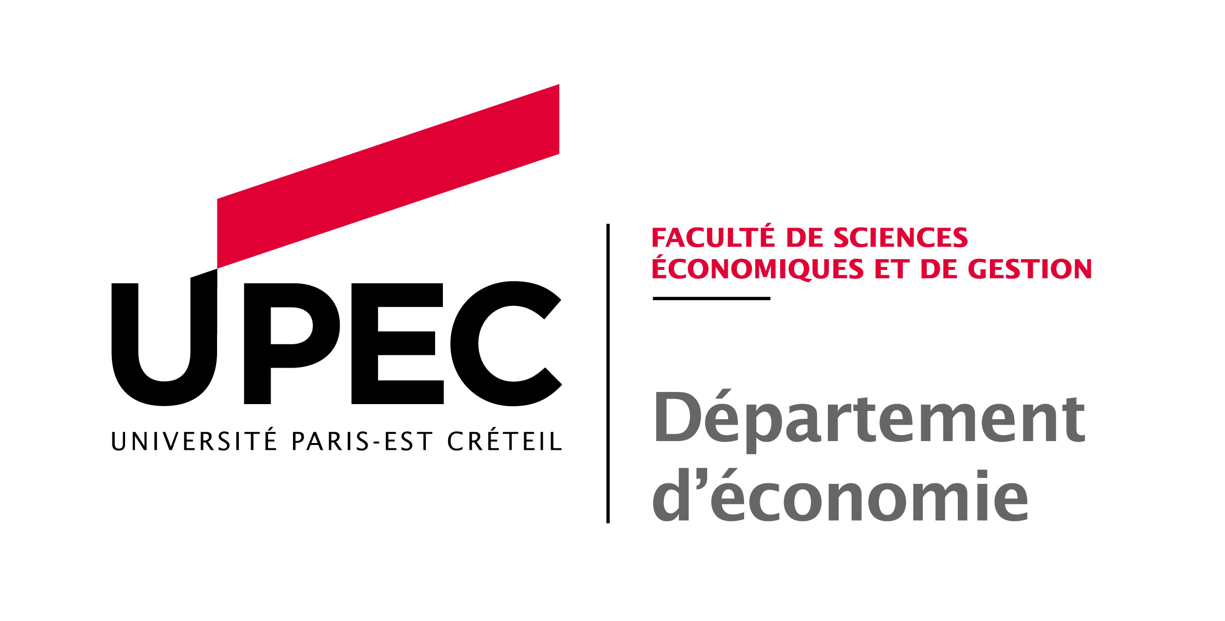 Logo Université Paris-Est Créteil - Faculté de Sciences Economiques et de Gestion
