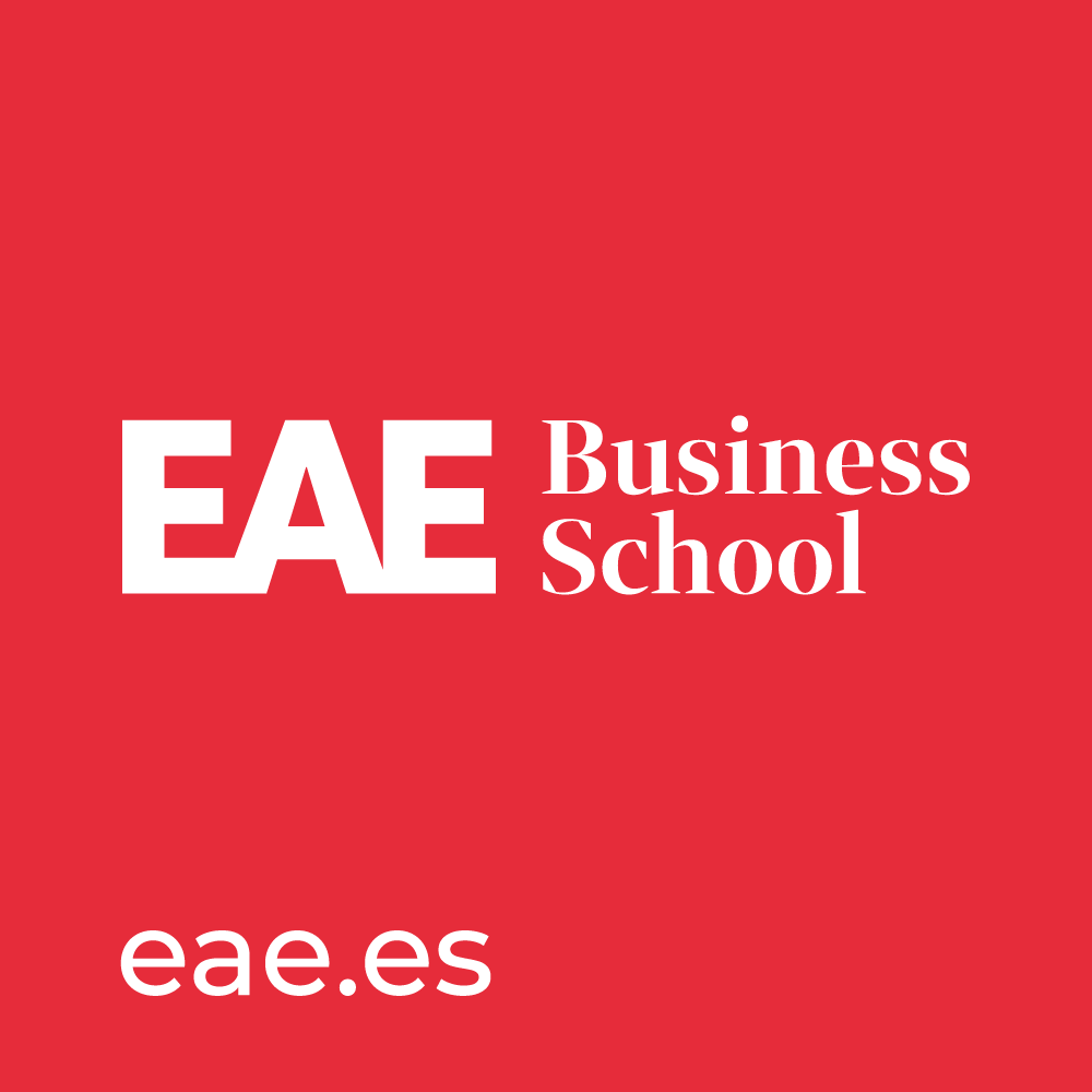 Logo EAE Business School in partnership with Universitat de Politecnica de Catalunya