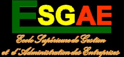 Logo Ecole Supérieure de Gestion et d'Administration des Entreprises - ESGAE