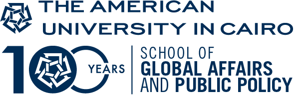 Logo The American University in Cairo - School of Global Affairs and Public Policy
