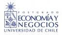 Logo Universidad de Chile School of Business and Economics (Facultad de Economía y Negocios)