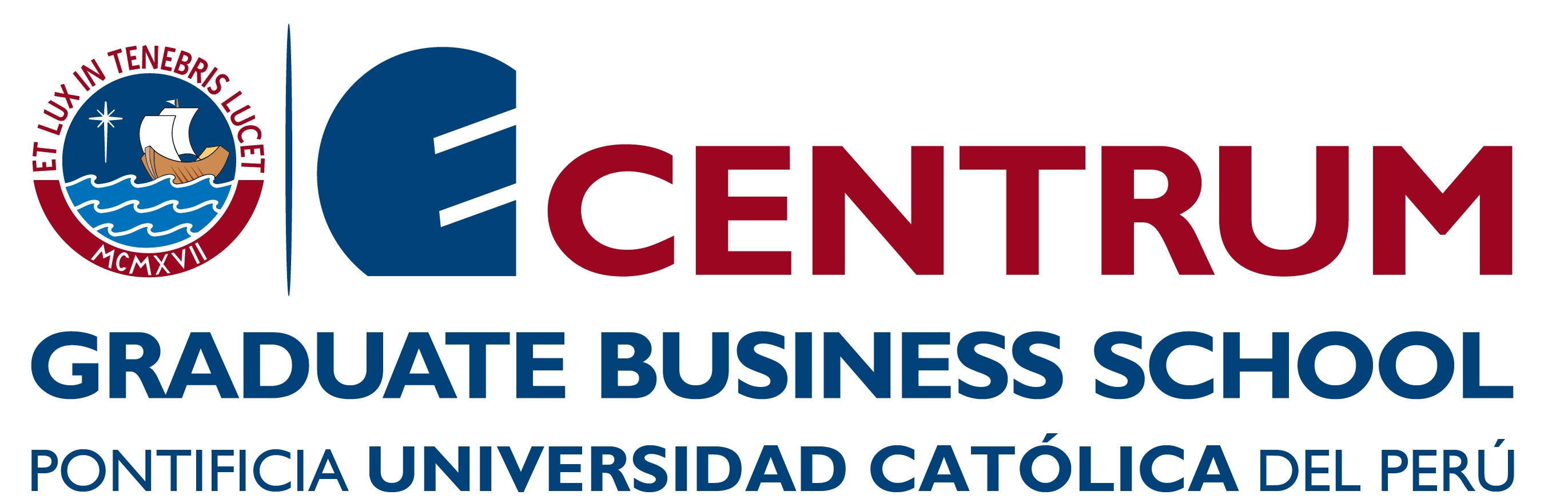 Logo CENTRUM PUCP Business School – Pontificia Universidad Católica del Perú