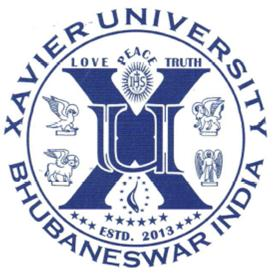Logo of Xavier University Bhubaneswar