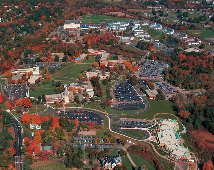 Logo University of Hartford - School of Communication