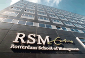 Logo Erasmus University with Hotelschool The Hague