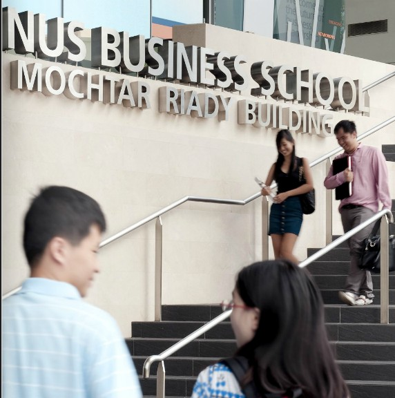 Logo National University of Singapore - NUS Business School